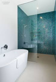 Blue Tile Bathroom by Best 25 Glass Mosaic Tiles Ideas On Pinterest Glass Tiles
