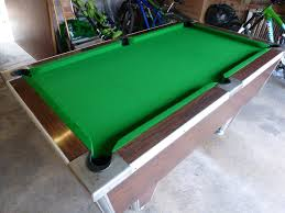 how big is a full size pool table no job too small from a garage 6ft pool table to a full size