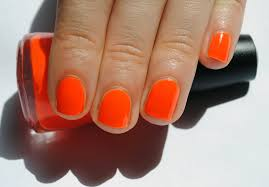 best neon orange nail polish photos 2017 u2013 blue maize