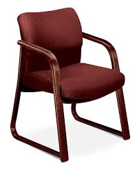 Fabric Guest Chairs Hon 2900 Series Wood Arm Guest Chair