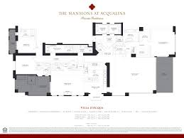 Absolute Towers Floor Plans by Mansions At Acqualina Worldwide Properties