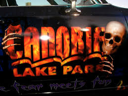 spirit halloween nashua nh spooky world at canobie lake park photo tr theme park review