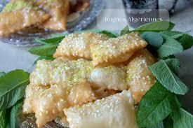 cuisine algerienne recette ramadan oreiller au miel bugnes algeriennes recettes faciles recettes