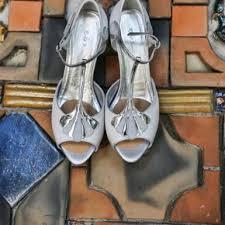art deco wedding shoes