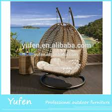 Hanging Chair Outdoor Furniture Outdoor Double Swing Chair Outdoor Double Swing Chair Suppliers