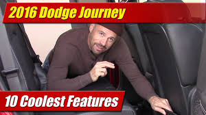 10 coolest features 2016 dodge journey youtube