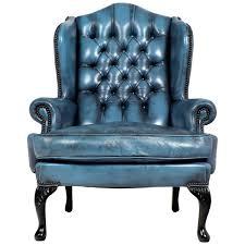 Blue Leather Armchair Blue Leather Chair Modern Chair Design Ideas 2017