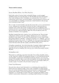 resume exles headline for resume exles exles of resumes