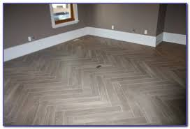 Tiles For Kitchen Floor by Herringbone Tile Floor Diy Herringbone Vinyl Tile Pattern Via