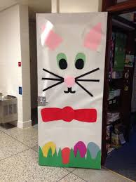 Easter Egg Door Decorations by Easter Spring Door Decoration Door Decorations Pinterest