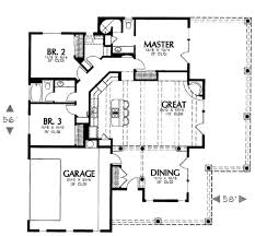 southwest floor plans adobe southwestern style house plan 3 beds 2 00 baths 1684 sq