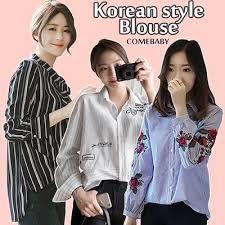 style blouse qoo10 2018 qxpress wawemon style blouse dress