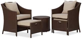Patio Wicker Furniture Set - patio furniture wicker garden of wicker