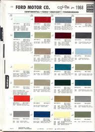 ford interior trim color codes brokeasshome com