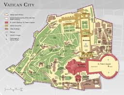 Italy City Map by Detailed Map Of Vatican City Rome Italy The Tip Of The Dragon U0027s