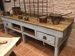 kitchen island ebay vintage rustic workbench kitchen island ebay