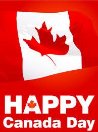 waving canadian flag canada day card oh canada july 1 2017