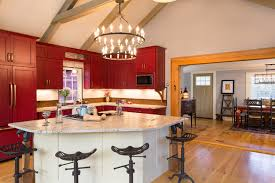 triangular kitchen island farmhouse fabulous bow nh