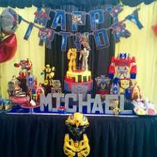 transformers birthday decorations transformers party ideas for a boy birthday catch my party