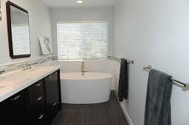 the look for less modern bathrooms