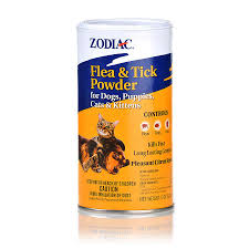 zodiac flea and tick powder for dogs puppies cats and kittens