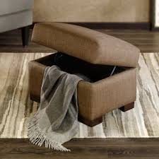 buy chocolate storage ottoman from bed bath u0026 beyond