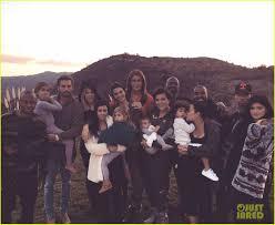 jenner clan thanksgiving family photo photo 3517743