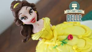 belle doll cake beauty and the beast disney princess cakes youtube