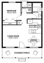 1 Bedroom Cottage Floor Plans House Plan 99971 Cottage Vacation Plan With 598 Sq Ft 1