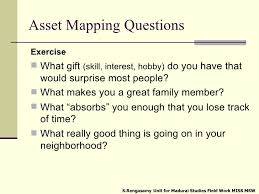 asset mapping introduction to community asset mapping