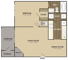 sunroom floor plans riverset apartments 100 riverset tn rentcafé