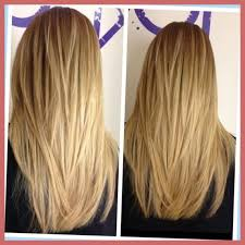 how to cut hair straight across in back haircut straight across or v the best haircut 2017