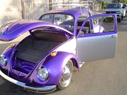 volkswagen beetle purple thesamba com samba feature cars