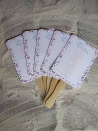 Wedding Program Hand Fans 20 Starfish Beach Wedding Program Hand Fans For Your Outdoor