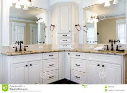White Bathroom Cabinet Ideas  Best White Vanity Bathroom Ideas - White cabinets bathroom design