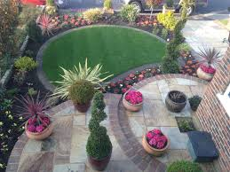 Circular Patios by Front Circular Garden Patios Fraser Landscapes