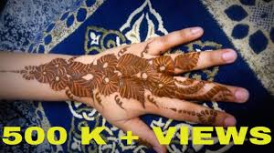 simple mehndi designs for hands henna tattoo beautiful arabic