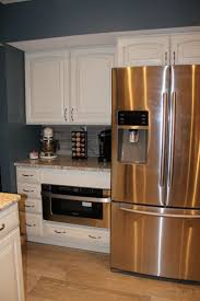 Modern Kitchen Cabinets by Home Accessories White Kitchen Cabinets With Microwave Drawer And