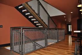 Industrial Stairs Design Stair Railing Design Detail Totally Wired Professional Builder