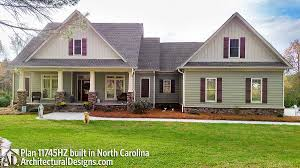 County House Plans Plan 11745hz Classic Country Style Home Plan Bonus Rooms