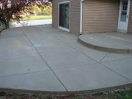 Concrete For Backyard by Concrete Patios Milwaukee Jbs Construction