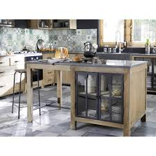maisons du monde cuisine cuisine maison du monde copenhague 6 ilot central 150 cm con cuisine