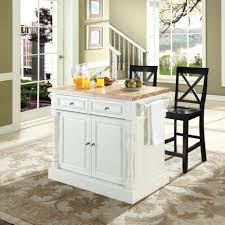 white kitchen island with butcher block top kass us concept