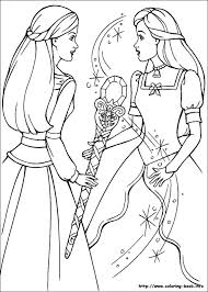 barbie magic pegasus coloring pages coloring book