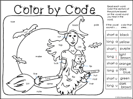 first grade phonics coloring worksheets coloring for kids first