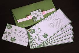 green wedding invitations mix of randomness marce cha wedding invitation olive green