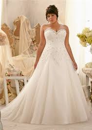 plus size wedding gowns a line sweetheart organza lace draped plus size wedding dress