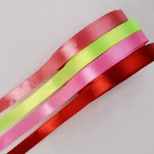 wide satin ribbon 1 2 wide polyester single sided satin ribbon for sale