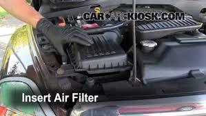 2004 dodge durango gas mileage 2004 2009 dodge durango engine air filter check 2004 dodge