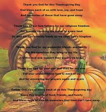 a thanksgiving prayer poems